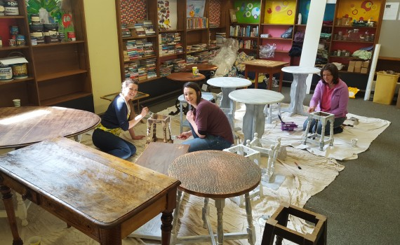 Upcycling furniture