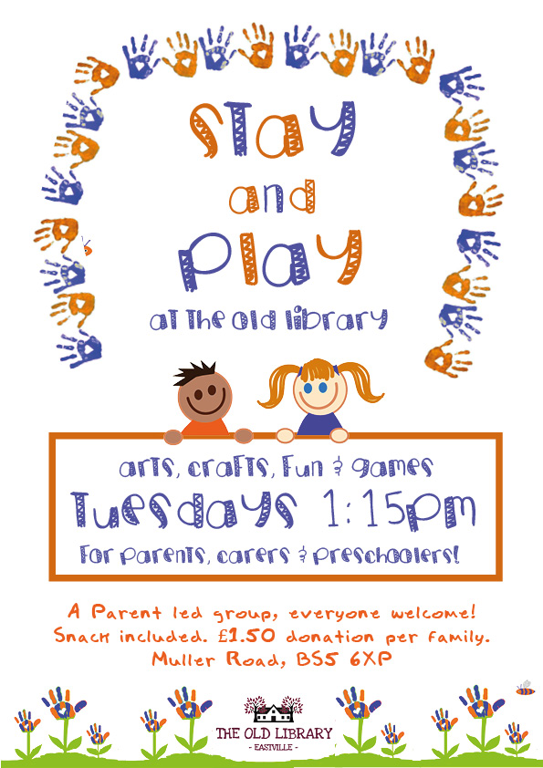 Stay and Play at the Old Library
