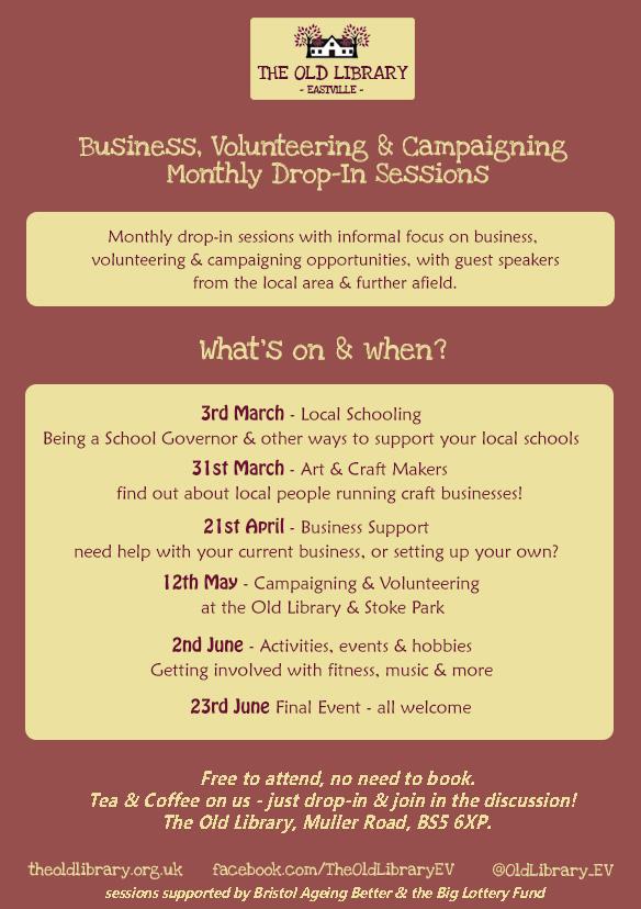 Business Drop in flyer