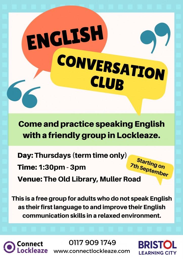 English Conversation Club, Lockleaze, Bristol