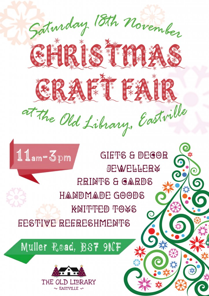 Christmas Craft Fair Poster