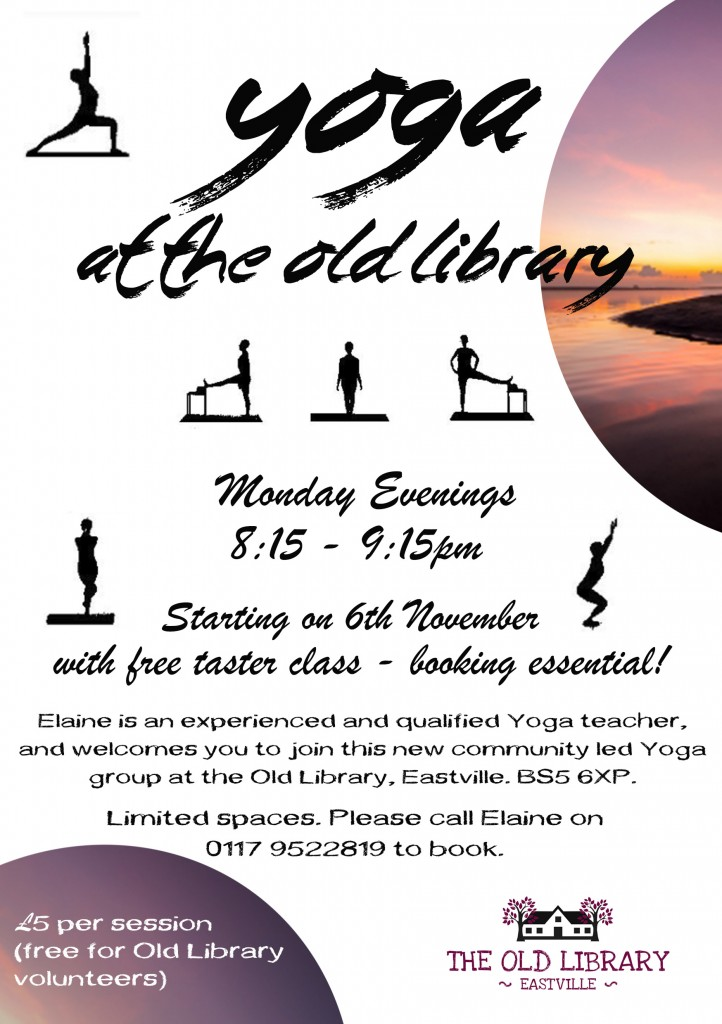 Yoga Bristol Poster